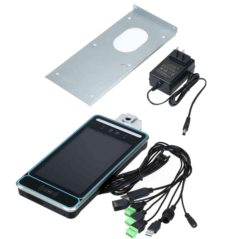 Smart Machine Dual Camera Face Recognition Non-contact Temperature Detector (us Plug)