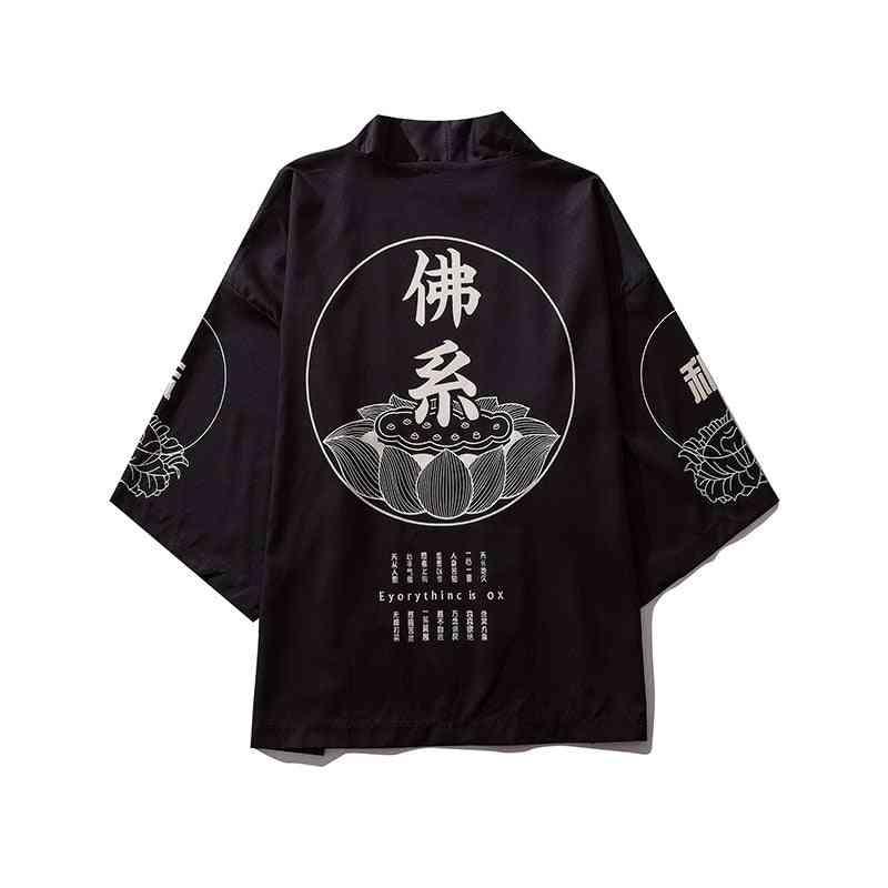 Japanese Kimono, Cardigan Yukata, Blouse Shirt