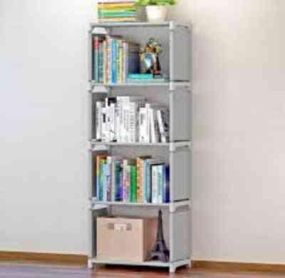 Multi-tier Creative Storage, Plants Sundries, Bookshelf Cabinet Fabric For
