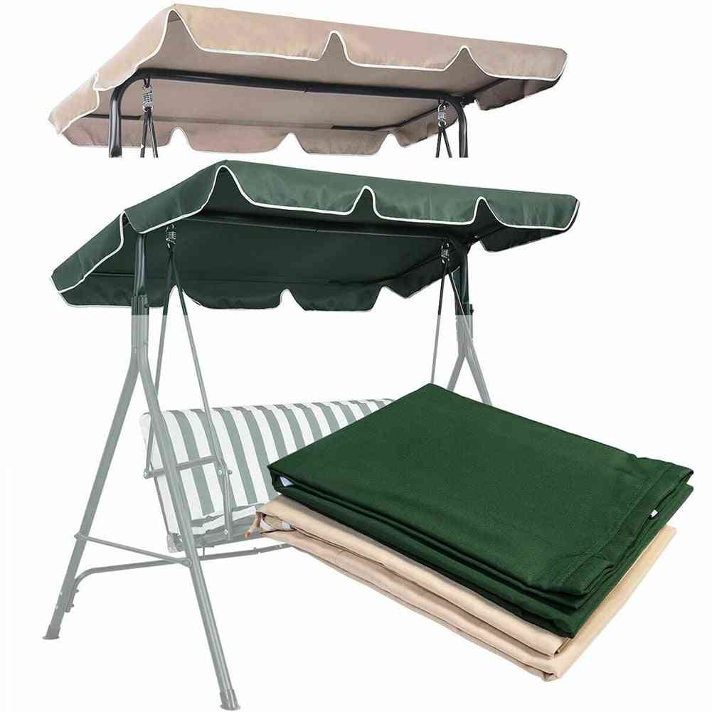 Waterproof Polyester Top Cover For Patio Swing Chair