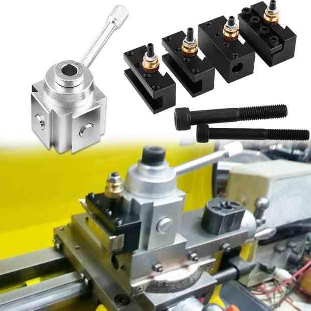 Aluminum Alloy Mini Lathe, Post And Holder Tool Accessary