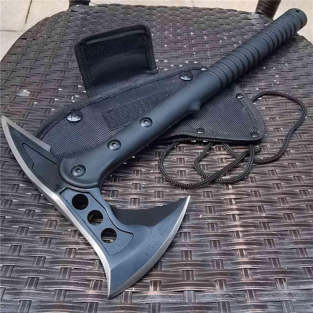Cs Tactical Tomahawk Army Hunting Machete Axe