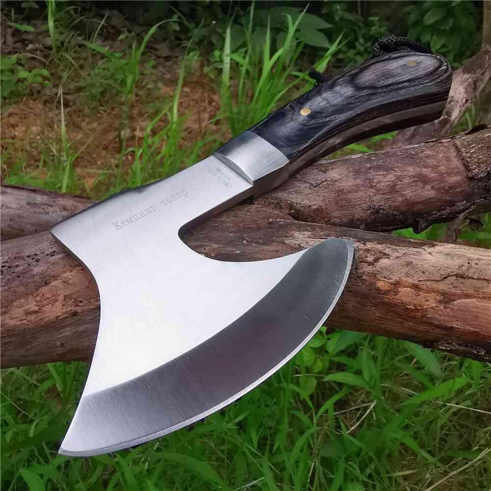 High Hardness Battle Outdoor Jungle Camping Bone Cutter Fire Axe