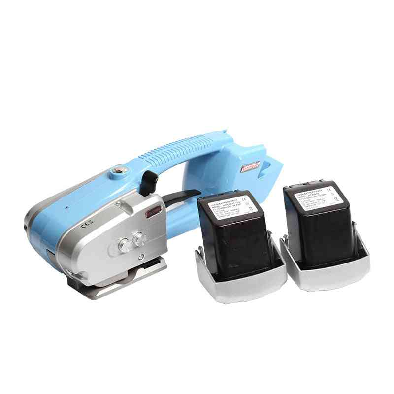 Battery Powered Operated, Strapping Plastic, Friction Seal For Pp/pet With Charger And Battery Tool