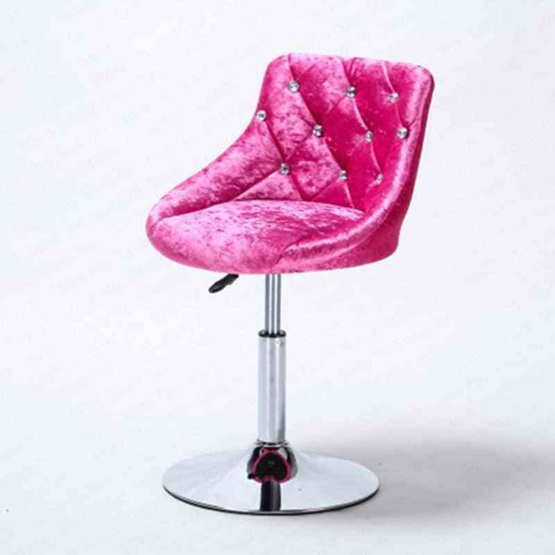 Modern Lift Rotating, Backrest Chair & High Bar Nails Stool