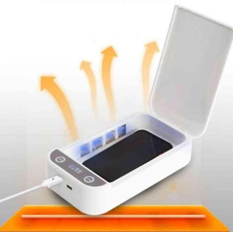 Usb Charge- Sterilizer Uv Light, Sterilizer Box For Phone Mask Watch