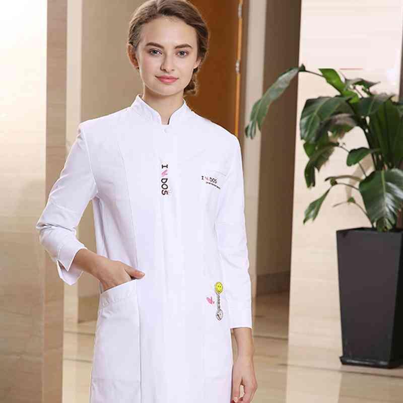 New Beauty Centre Work Coat+pants Sets Workwear