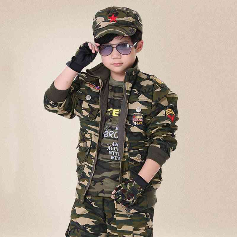 Spring Military Costume Outdoor Training Uniform Security Training Clothes