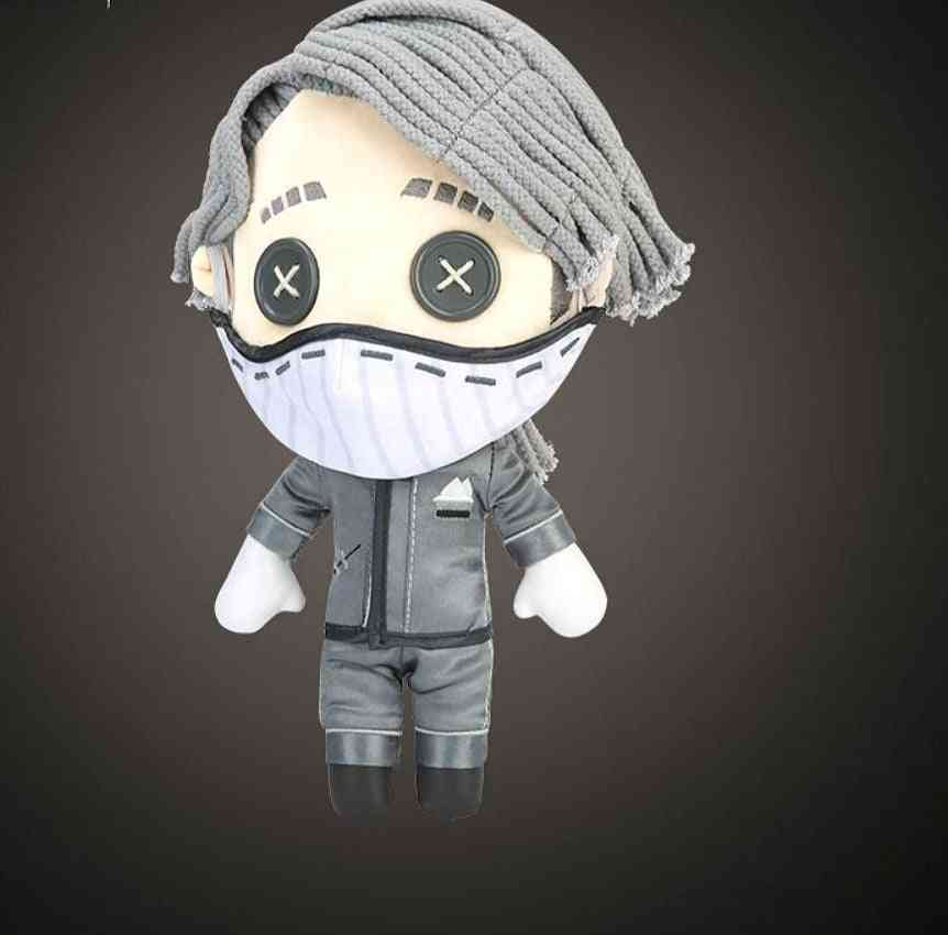 Aesop Carl Cosplay Pillow Plush Doll Plushie Toy Change Suit Dress Up Clothing (doll Only 30x15x13cm)