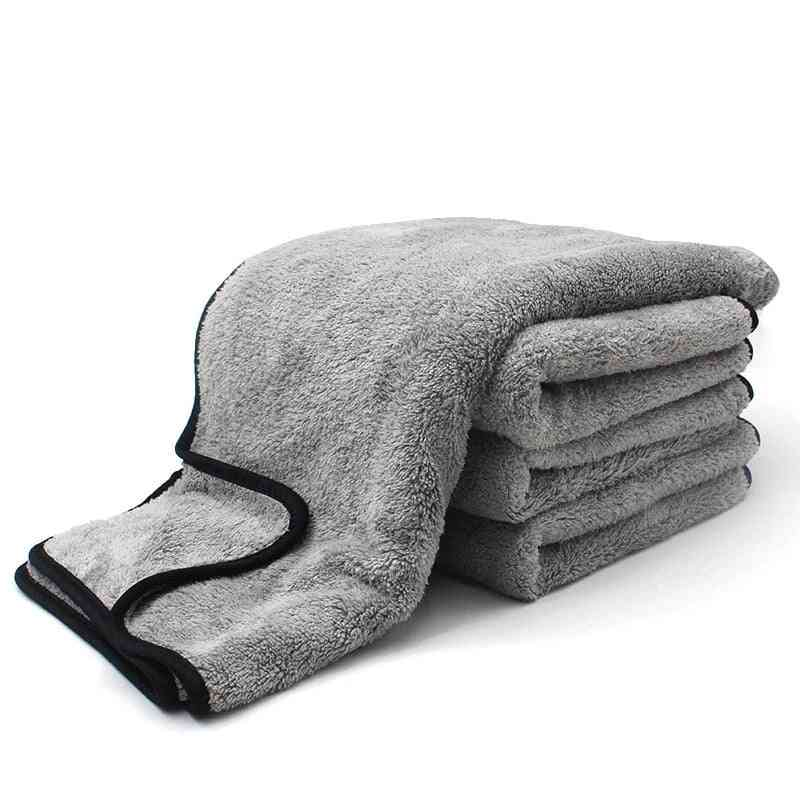 Microfiber Towel Car Wash Cloth, Auto Cleaning Of Thick Strong Water Absorption