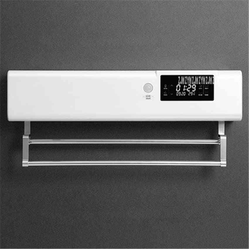 Sterilization Heated Towel Rail Warmer, Intelligent Human Body Induction Wall Mounted, Electric Heating Rack