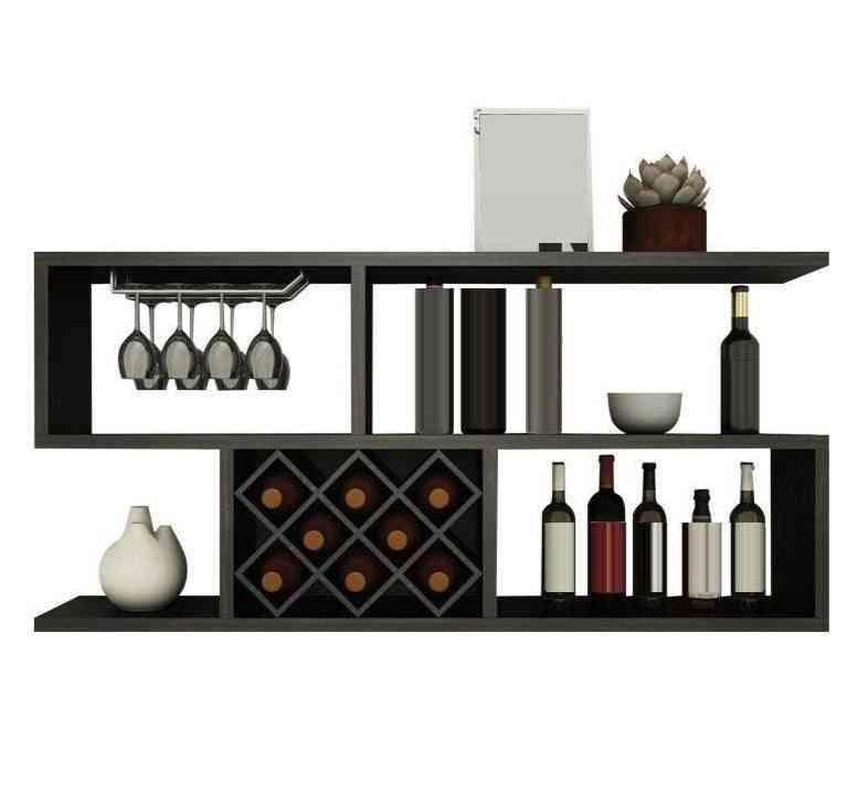Furniture Bar Cabinet, Storage Shelves Rack