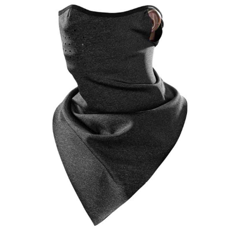 Winter Scarf Warm Fleece, Mask, Breathable Cycling Scarfs, Running Snowboard Motorcycle Skiing Face, Windproof