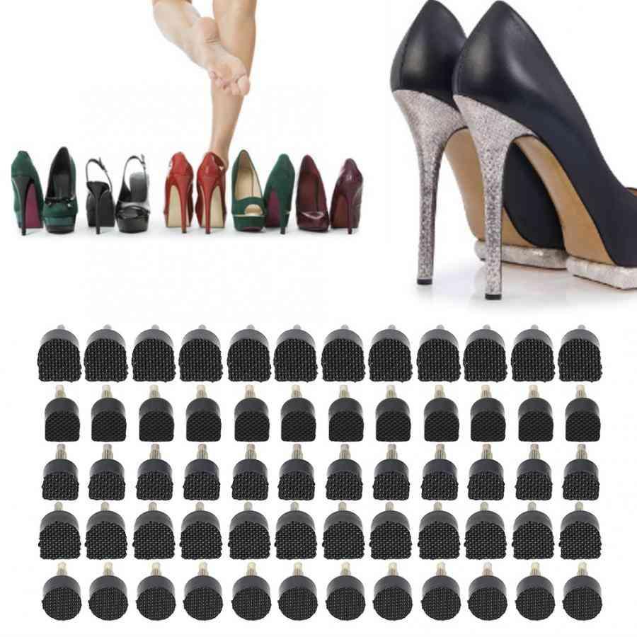 60pcs/set High Heel Shoe Repair Tips Taps Dowel Lifts Replacement
