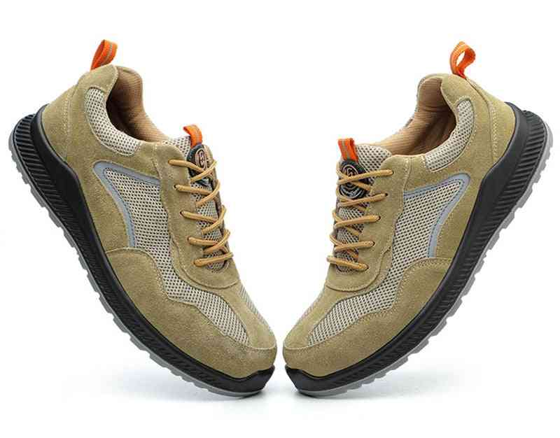 Compound Head Insulated Military Work Boots Anti-smash Safety Steel Toe