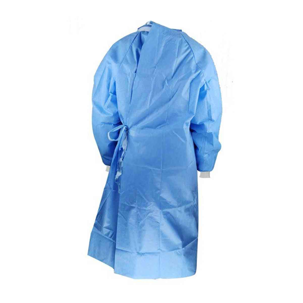 Disposable Protective Clothing Dustproof And Waterproof Isolation Gown Workshop Safety Suit