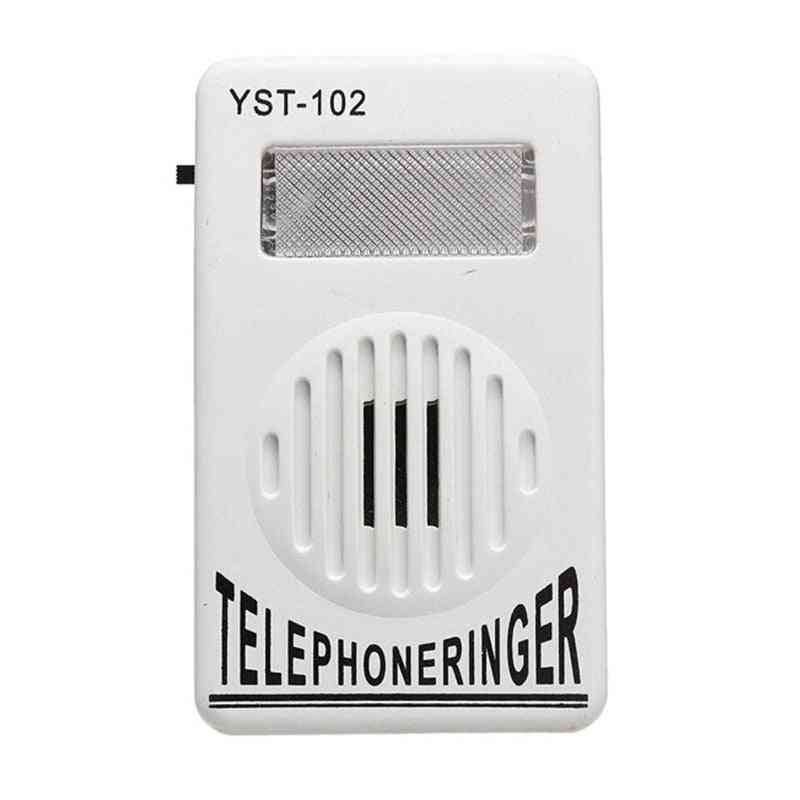 Extra-loud Telephone Ringer Amplifier