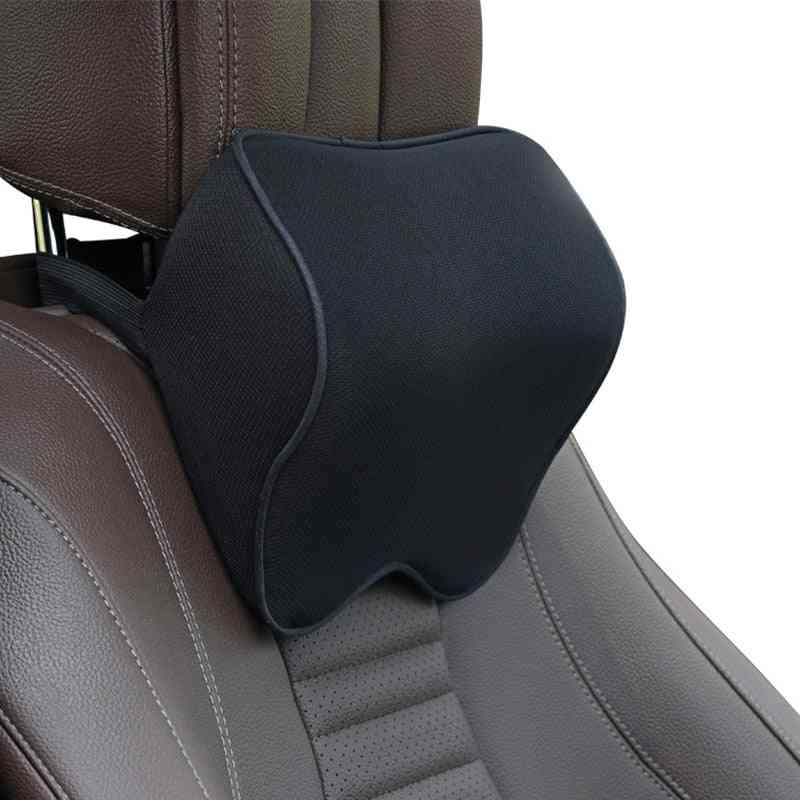 Cushion Auto Seat Head Support Protector/seat Rest Memory Cotton Under The Neck Pillow