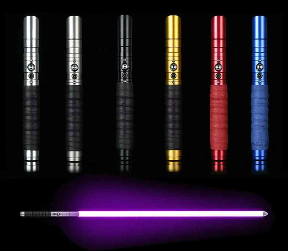 Changing Color Light Saber Force Fx Lighting Heavy Dueling Color Sound Lock Up Metal Handle