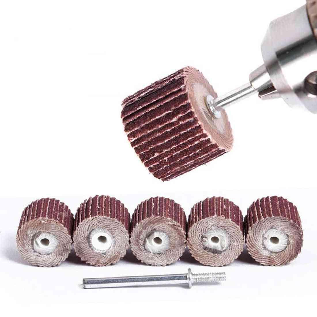 Dremel Sandpaper, Sanding Flap Disc, Shutter Polishing Wheel For Rotary Tool