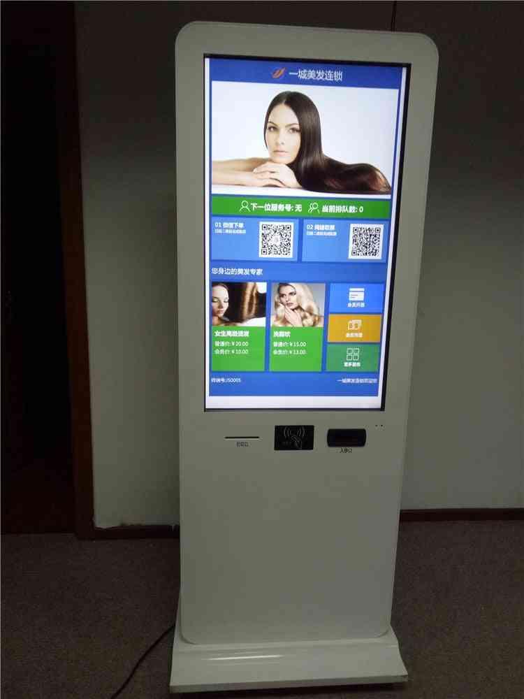 Metro Station Hotel Cash Bill Receiver Self Service Smart Card Vending And Slot Machine