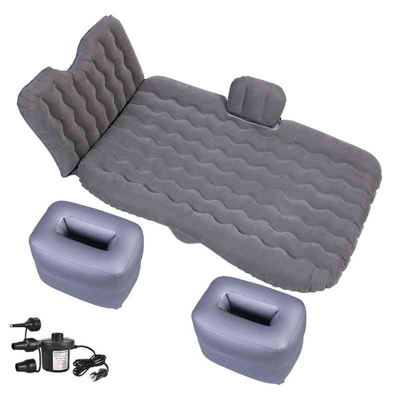 Air Inflatable- Travel Bed Mattress, Sofa Car Back Seat Cover For Outdoor Camping