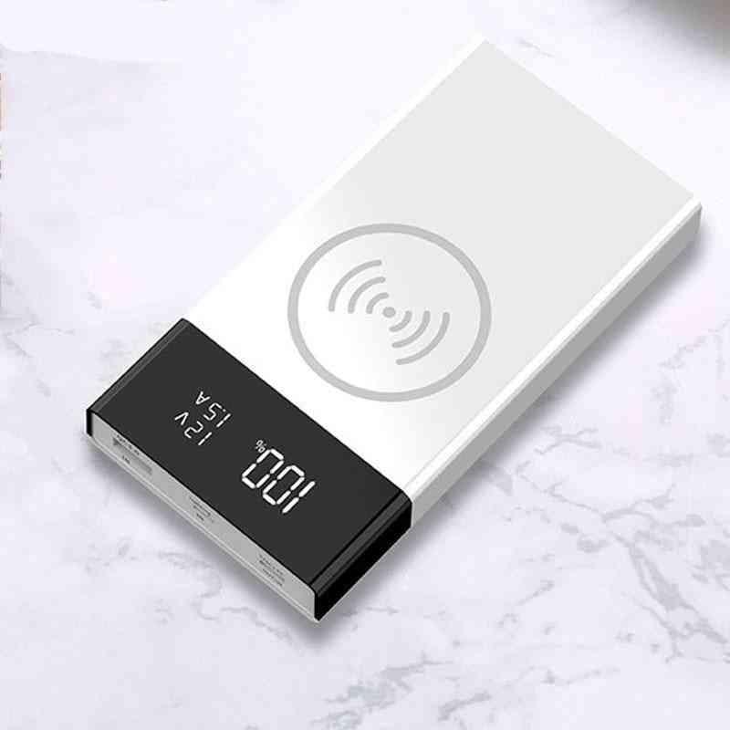 Digital Display Wireless Charge Power Bank