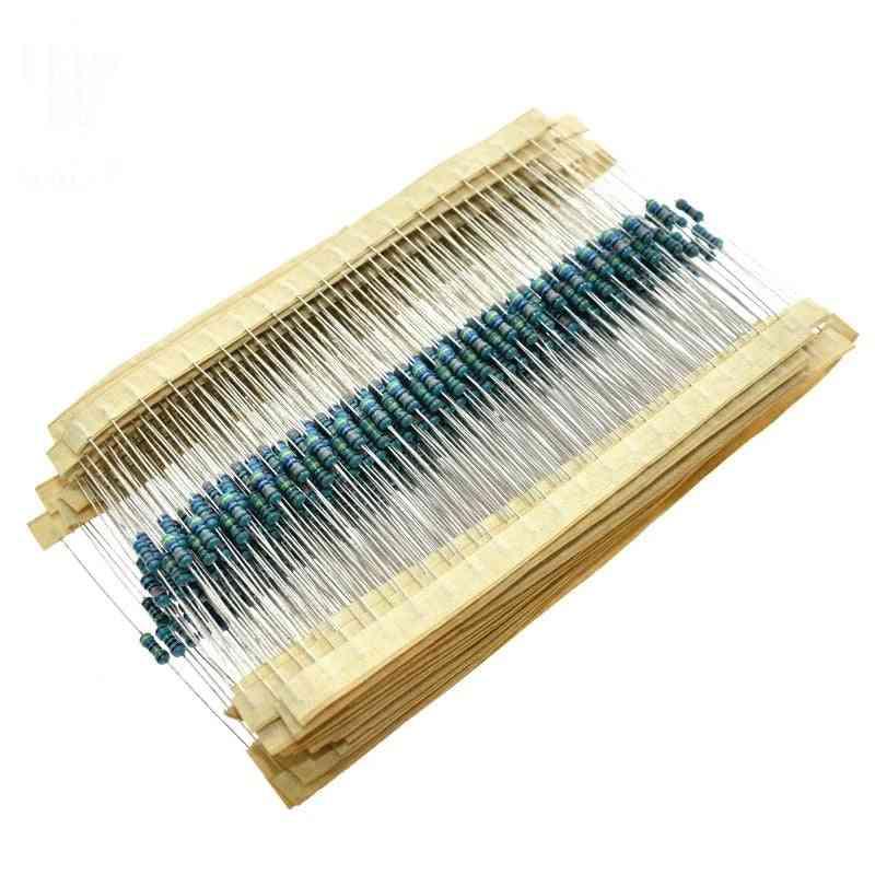 Metal Film Resistor Assortment Kit 100r 1k 47k 10k 100k 4k7