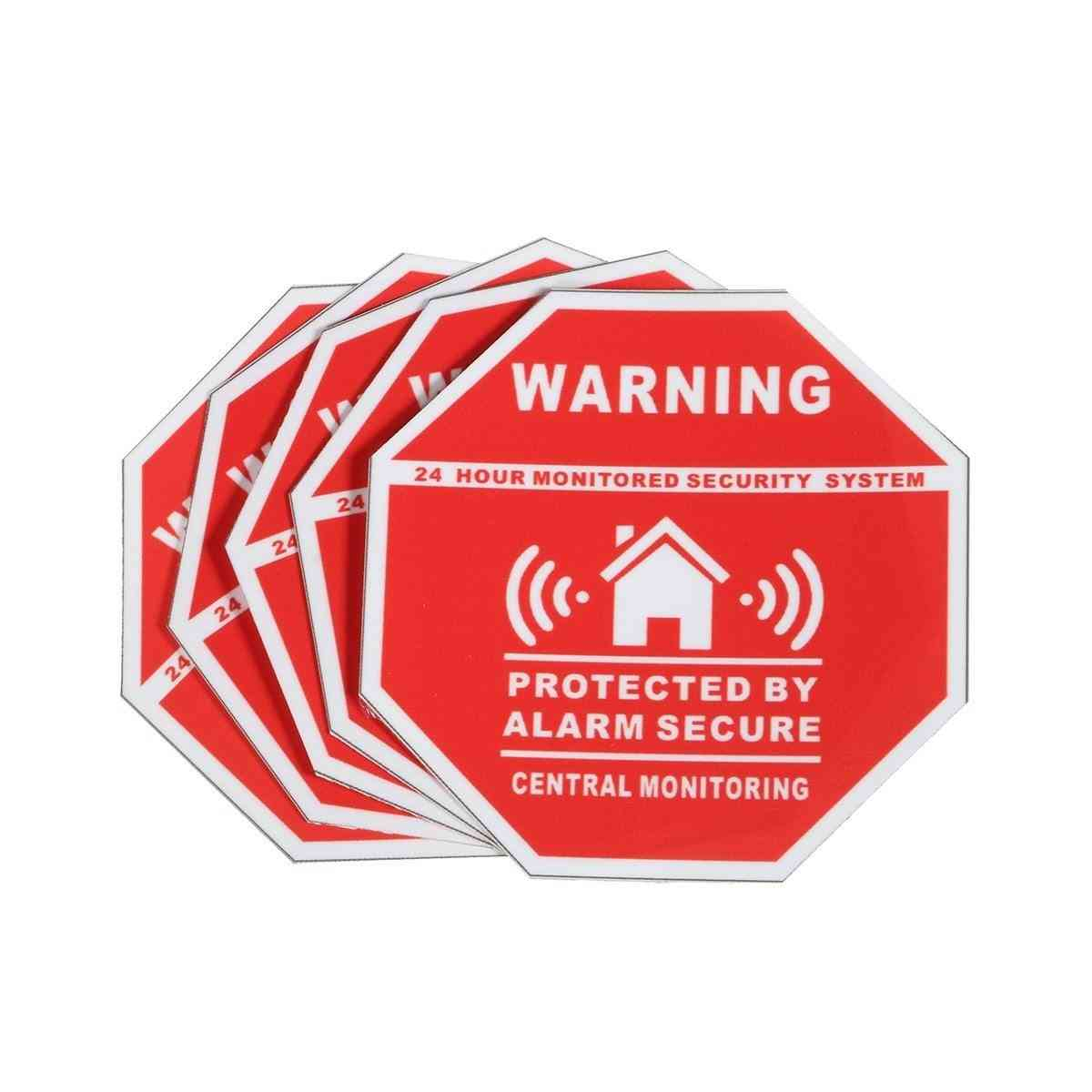 Home Alarm Security Stickers, Decals Signs For Windows & Doors