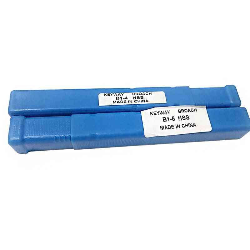 4mm 5mm B1 Type Push Keyway Broaches Hss Tools For Cnc Machine
