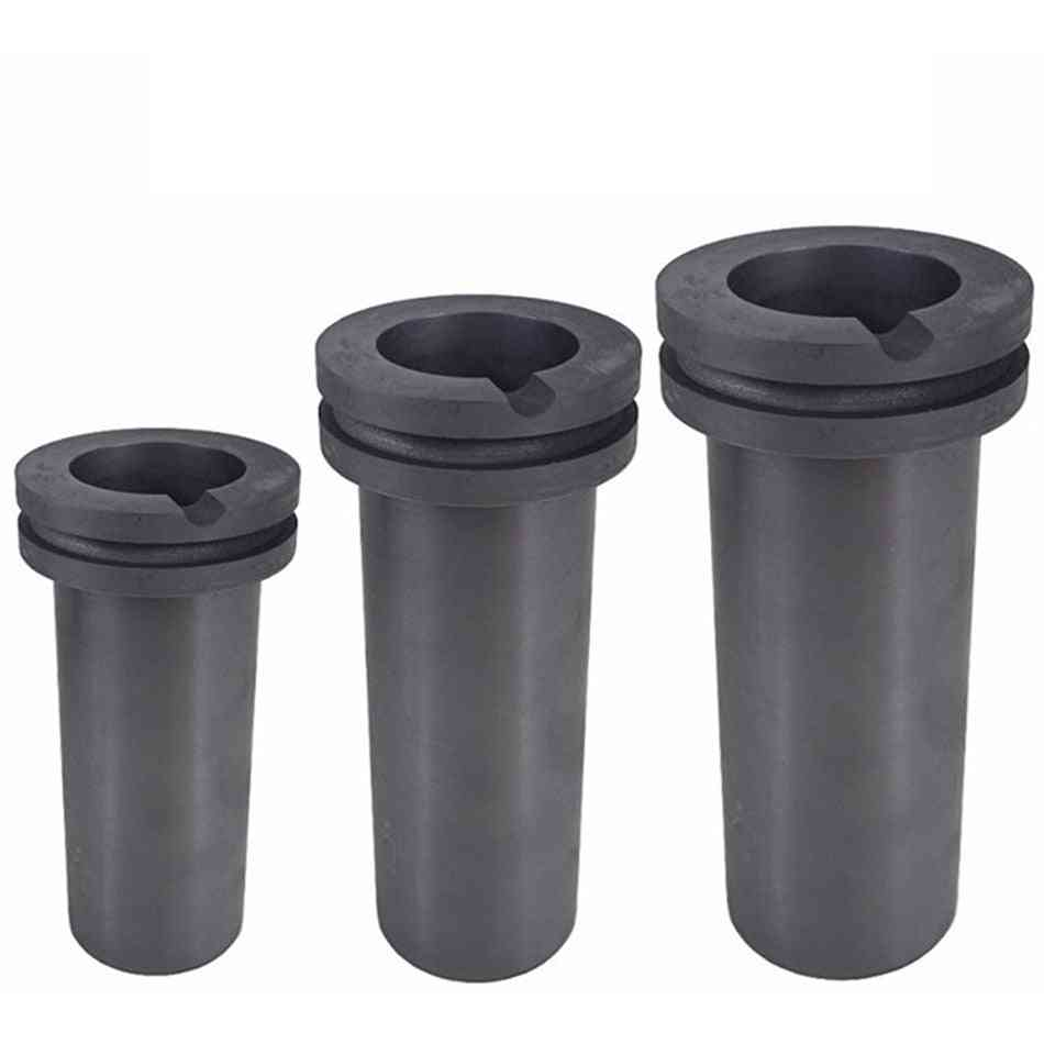 High-purity Graphite, Furnace Temperature Resistant, Precious Metal With Double Ring, Melting Crucib