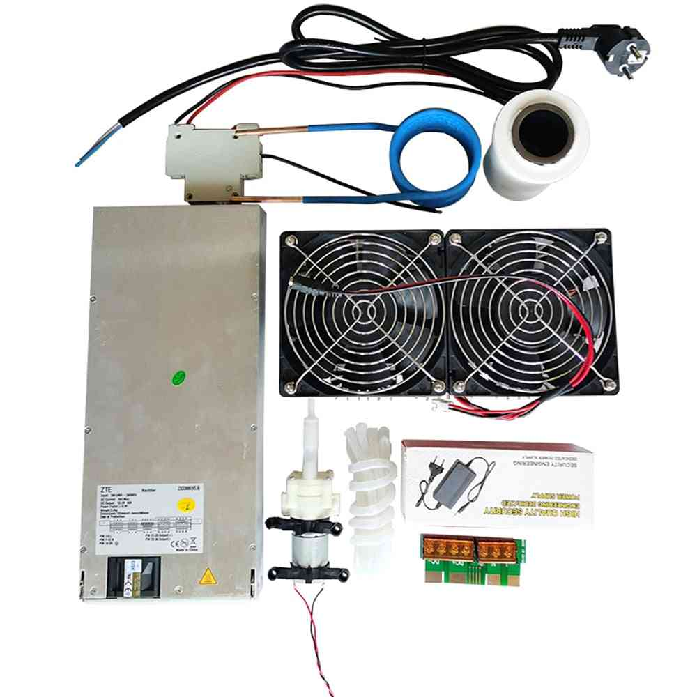 Zvs Induction Heater Pcb Board, Heating Machine & Coil, 70ml Rucible, Pump Power Supply (2500w)