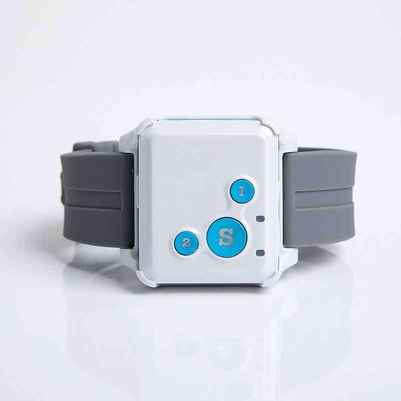 Wireless Gsm/gprs- Senior Tracker, Emergency Alarm, Alert Sos Panic Button
