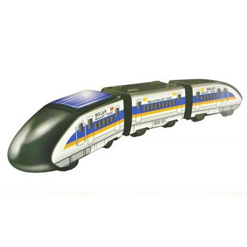 Creative Diy Solar Power Train Solar Toy For Kids Educational Gadget