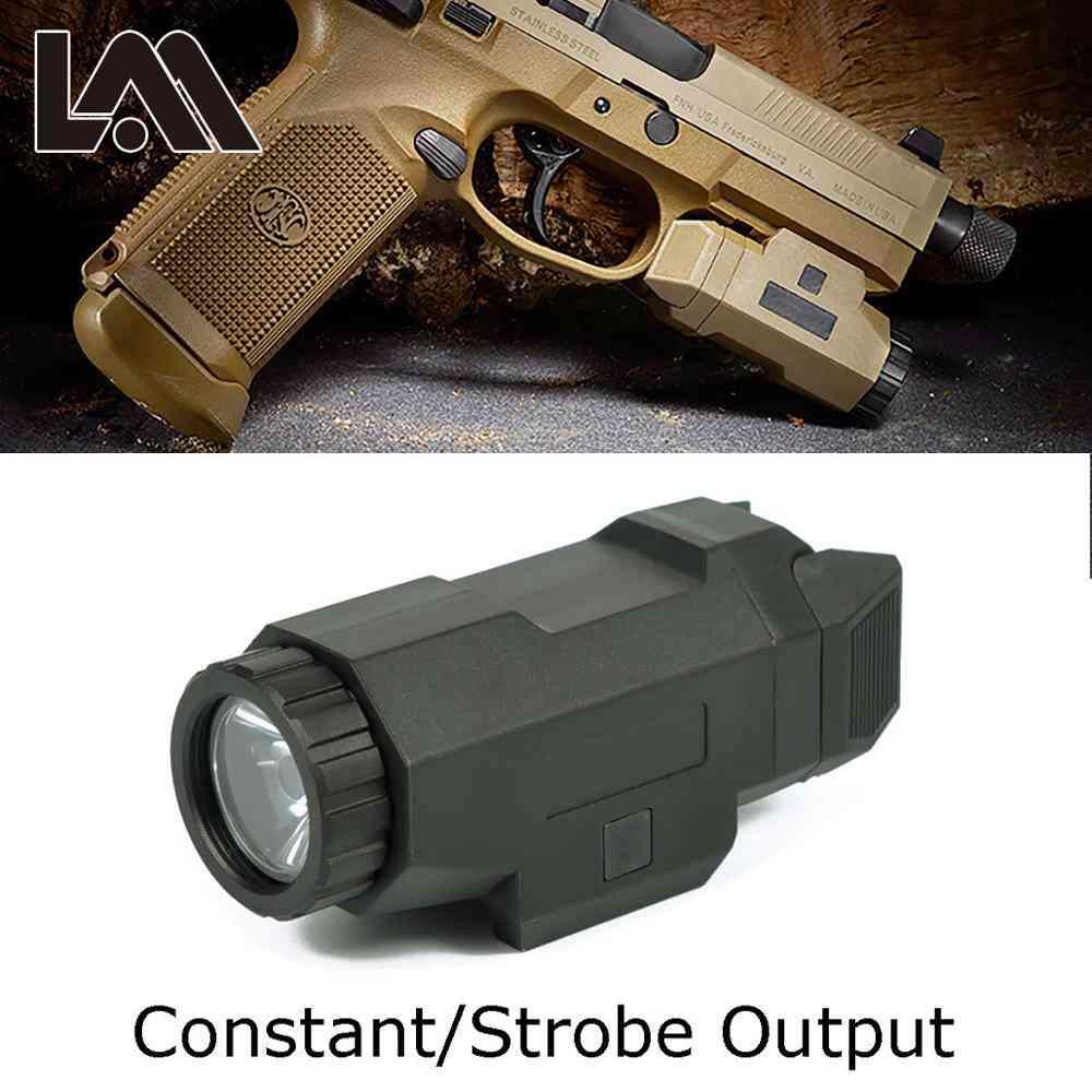 Tactical Scout Light Pistol Gun Light Compact Apl Flashlight
