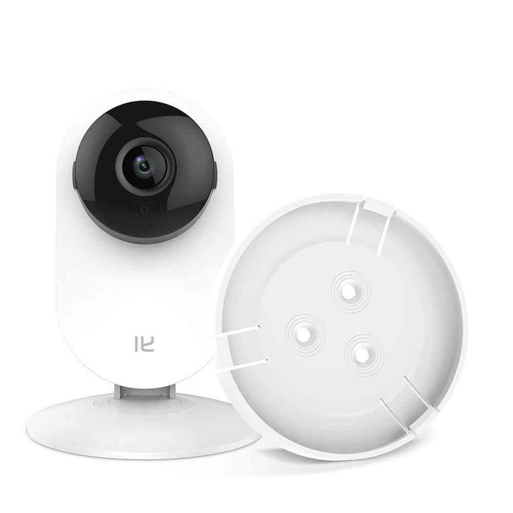 Wall Mount, Yi 1080p Home Camera, 360-degree Rotating, Bracket Holder (white)