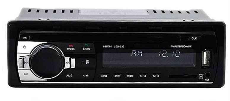 1 Din Stereo Radio Remote Contract Multiple Eq Mp3/wma/wav Player 12v Mp3 & Fm/sd/usb/aux   Bluetooth Audio Stereo