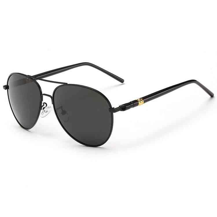 Pilot Photochromic Sunglasses, Men Driving Clear Polarized Lens Sun Glasses