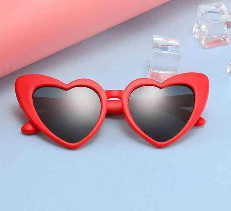 Kids Polarized Sun Glasses, Baby Flexible Safety Frame Eyewear