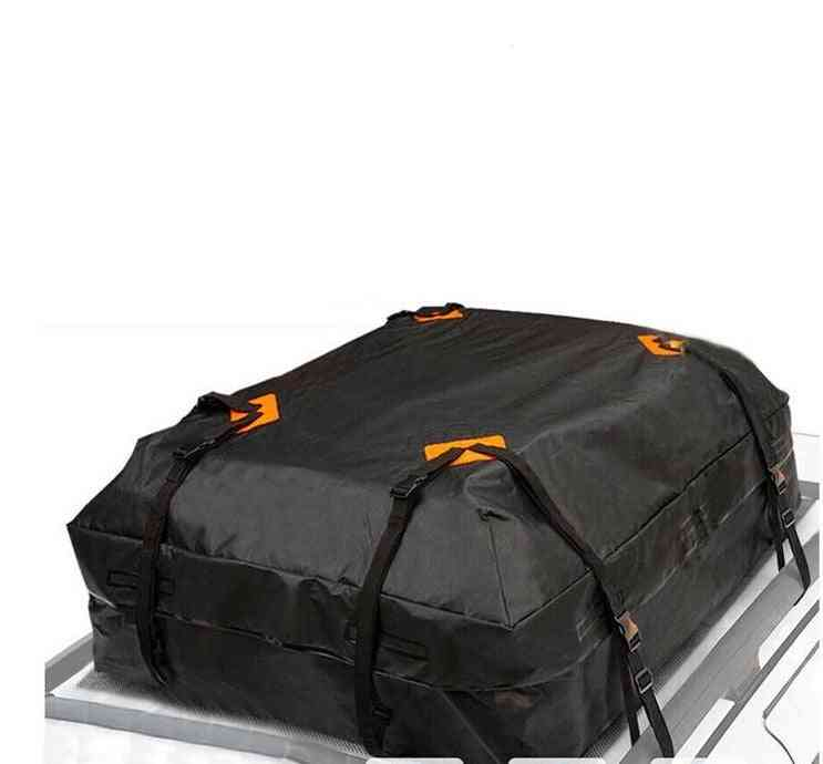 Car Roof Top Rack Carrier Cargo Bag Luggage Storage