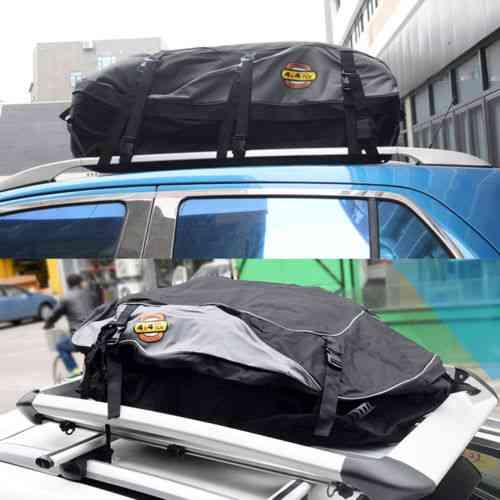 Car Roof Top  Luggage Storage Travel Bag (black)