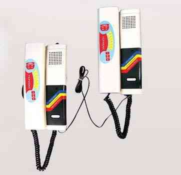 2-wire Dc Audio, Door Phone, Intercom System For Home Security
