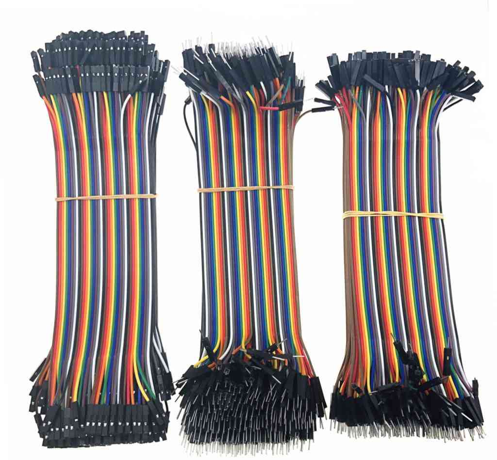 40-120pcs Dupont Line 20cm 40pin Male To Male, Male To Female And Female To Female Jumper Wire Kit