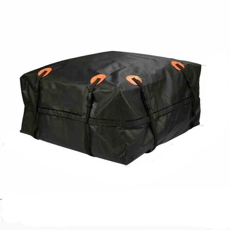 Cargo Carrier Luggage Rooftop Black Storage Travel Bag