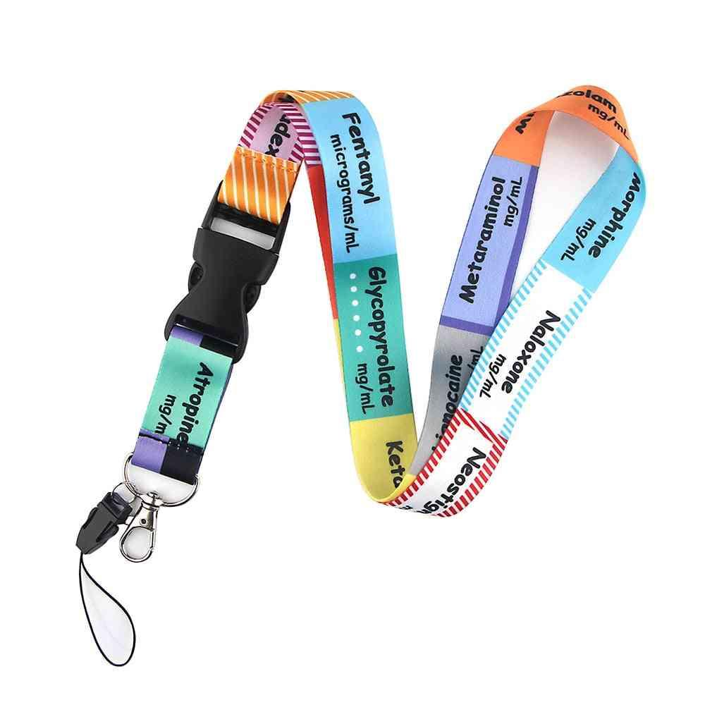 Medical Series Icu Key Chain Lanyard