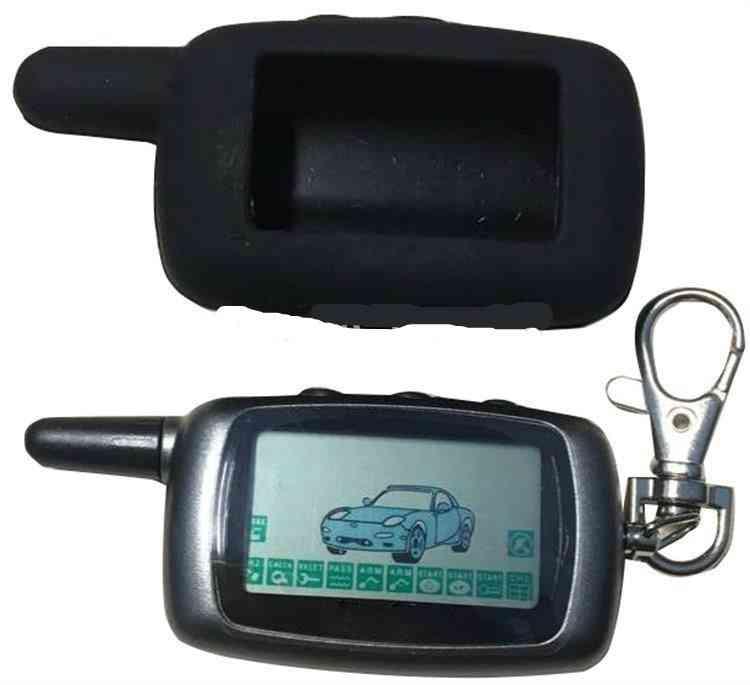 A9 2-way Lcd Remote Control Keychain