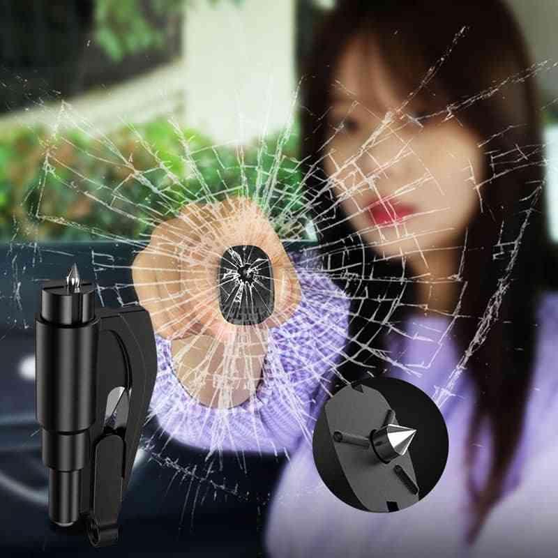 Car Safety Hammer Auto Emergency Glass Window Breaker