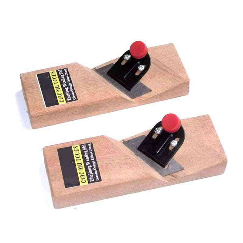 Inverted Edge Wood Plane - 60 Degrees Chamfering Planer Handle Tools