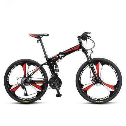Mountain Bicycle, One Wheel Foldable, Mtb With Llock Fork&shock Absorber