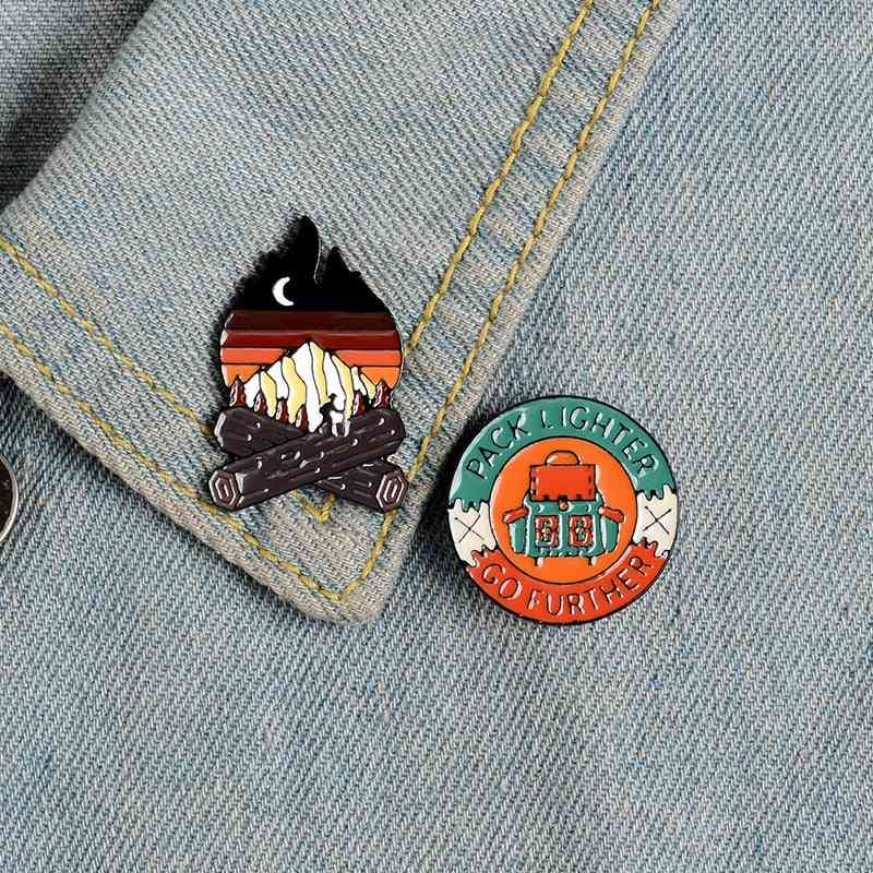 Brooches Badge For Bag, Clothes, Lapel Pin